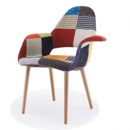 Set De 2 Chaises Design Couleur Gris