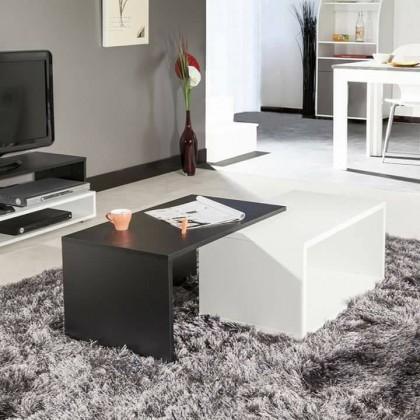 pack meuble tv casa table basse casa. Black Bedroom Furniture Sets. Home Design Ideas