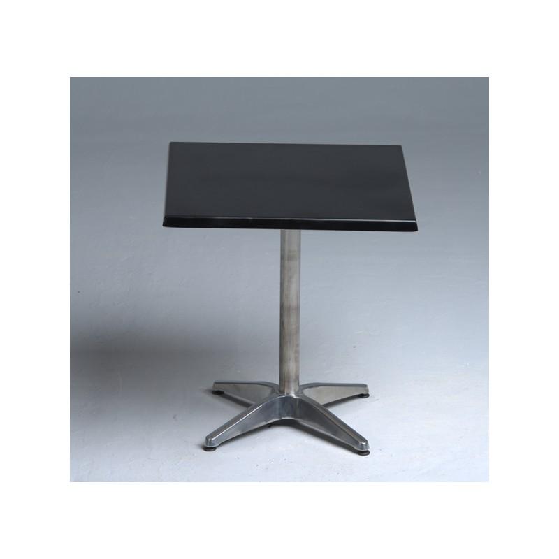 square roma table couleur blanc hauteur 75 cm longueur 60 cm. Black Bedroom Furniture Sets. Home Design Ideas