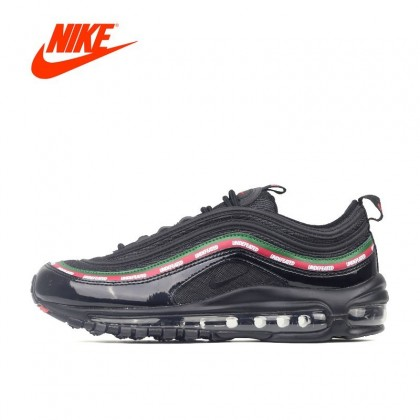 meilleur site web ae158 1c8bb Original New Arrival Offical Undefeated x Nike Air Max 97 Breathable Men's  Running Shoes Sports Sneakers Brand Design Couleur Blanc Taille de ...