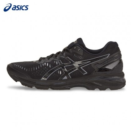 Original New Running Kayano Sports Outdoor Arrival Asics Shoes Jogging Men's Taille Stability Sneakers Gel 23 Noir Walkng Couleur De W9E2DHI