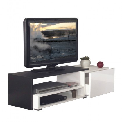 Meuble Tv Avec Tiroir Casa Couleur Meuble Tv Blanc